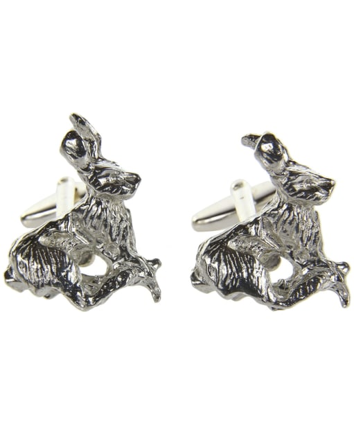 Men's Schöffel Cufflinks - Pewter Hare