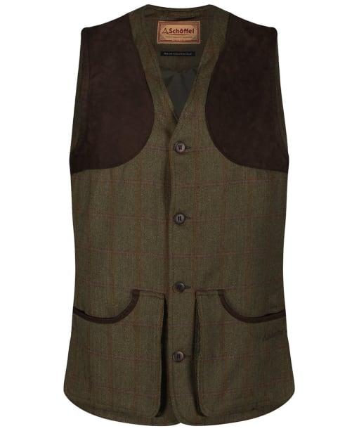 Men's Schoffel Ptarmigan Tweed Waistcoat II - Sandringham Tweed