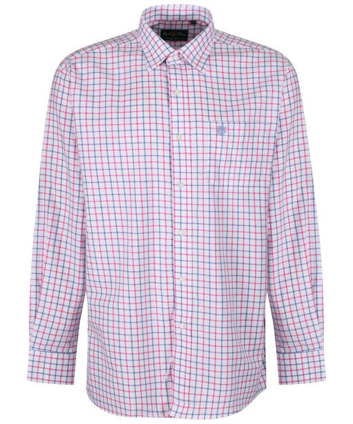Men's Alan Paine Ilkley Shirt - Blue / Pink