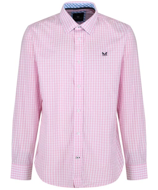 Men's Crew Clothing Classic Gingham Shirt - Classic Pink