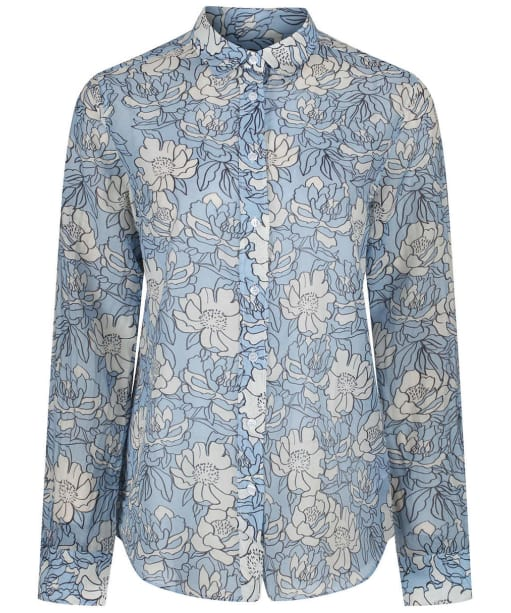 Women's GANT Full Bloom Shirt - Capri Blue