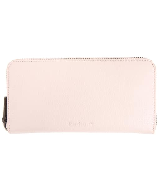 Women's Barbour Leather Clutch Purse - Pink