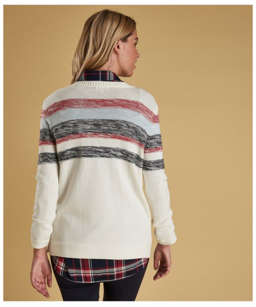 Women's Barbour Skysail Knitted Sweater - Off White