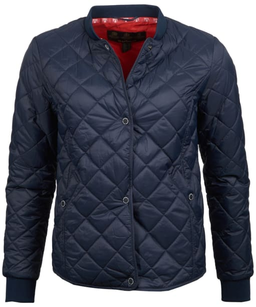 Women's Barbour Applecross Quilted Jacket - Navy