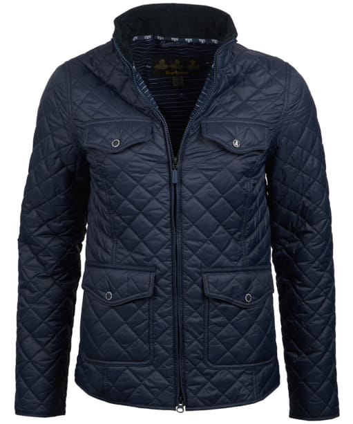 Women's Barbour Sailboat Quilted Jacket - Navy