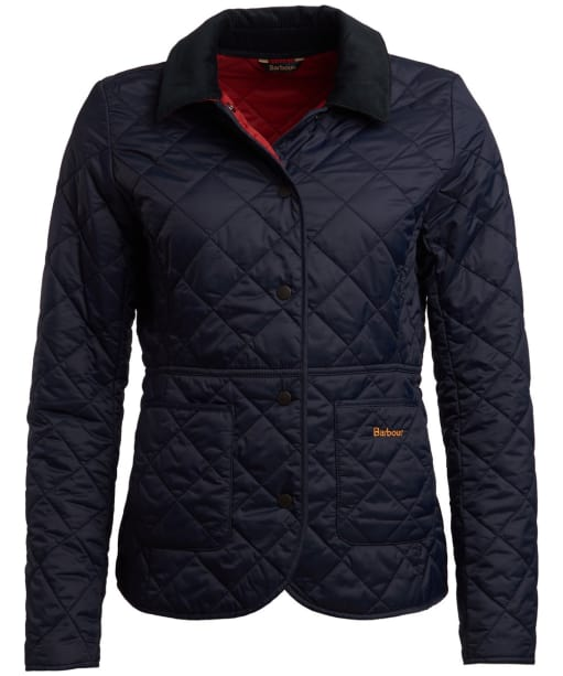 Women's Barbour x Sam Heughan Deveron Quilted Jacket - Navy