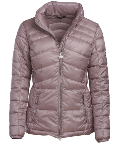 Women's Barbour International League Quilted Jacket - Amethyst