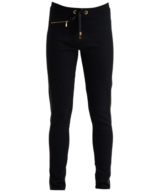 Women's Barbour International Track Trouser - Black / Gold