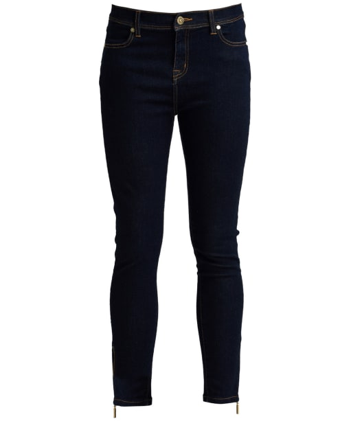 Women's Barbour International Durant Cropped Jeans - Rinse