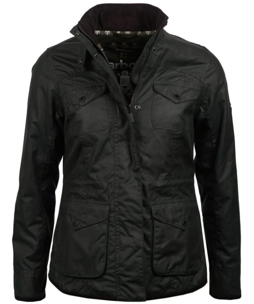 Women's Barbour Sidmouth Waxed Jacket - Sage