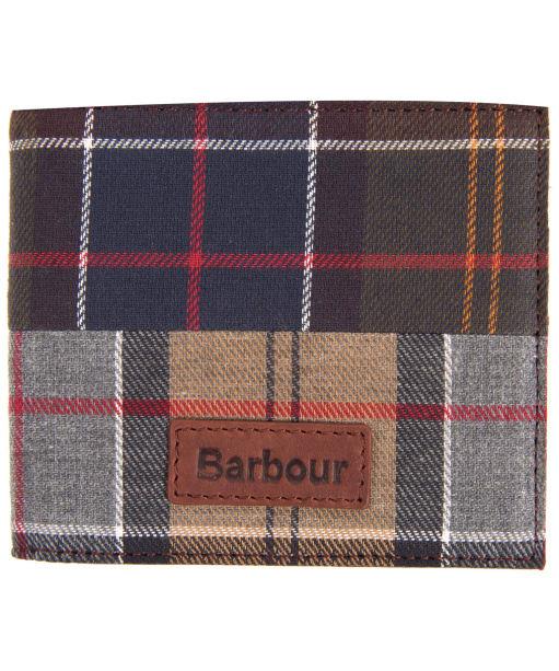 Men's Barbour Mixed Tartan Billfold Wallet - Mixed Tartan