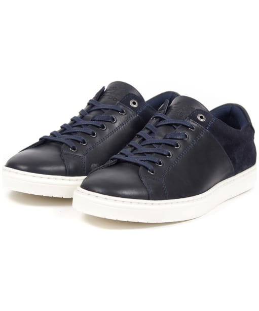 Men's Barbour Ariel Trainers - Navy