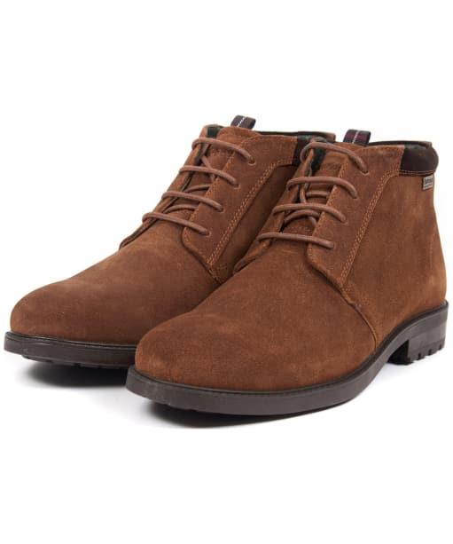 Men's Barbour Kielder Chukka Boots - Brown