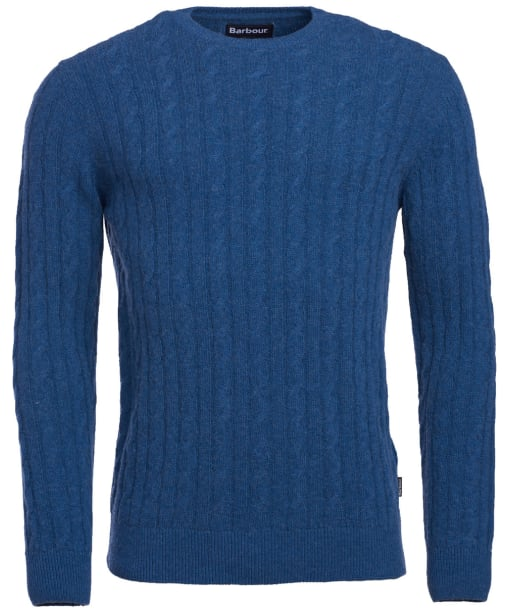 Men's Barbour Sanda Crew Knit - Denim Marl