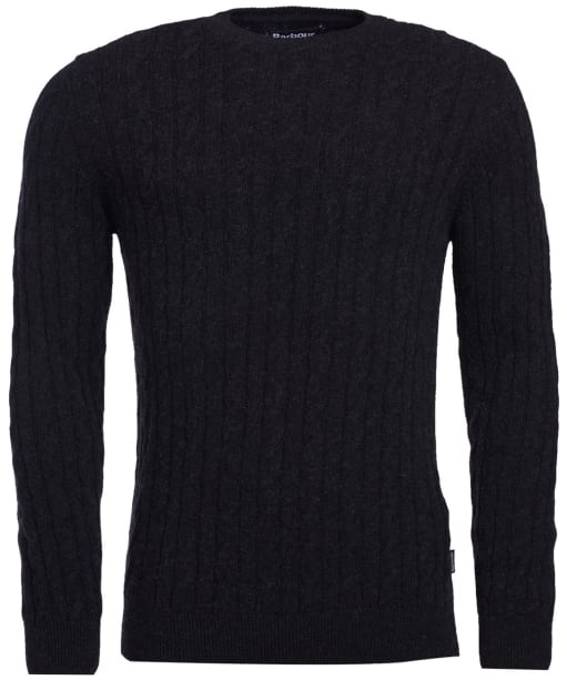 Men's Barbour Sanda Crew Knit - Graphite