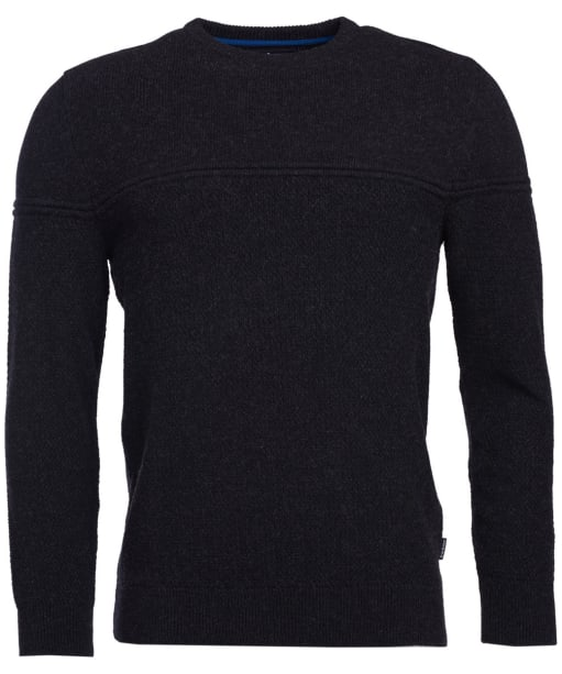 Men's Barbour Bowrider Crew Neck Sweater - Graphite