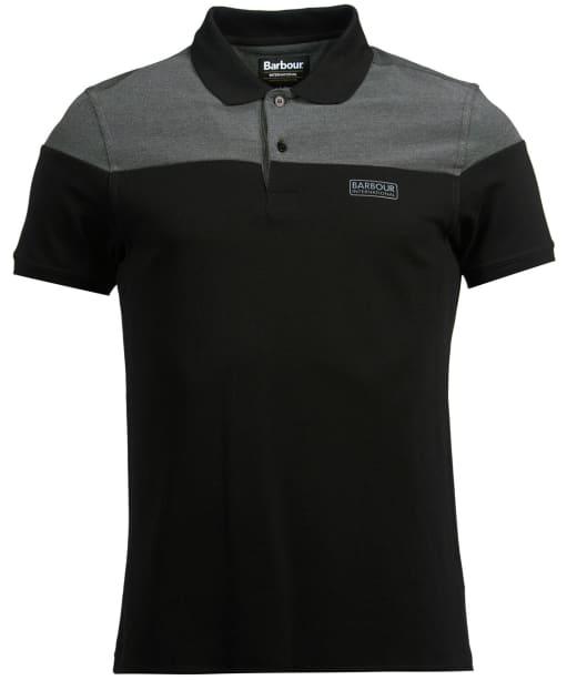 Men's Barbour International Curve Polo Shirt - Black
