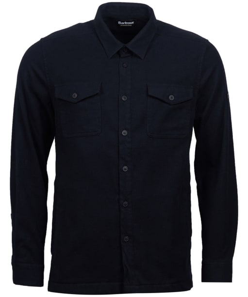 Men's Barbour International Skipton Overshirt - Black