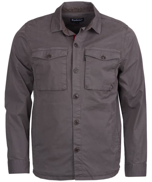 Men's Barbour Hali Overshirt - Slate Grey