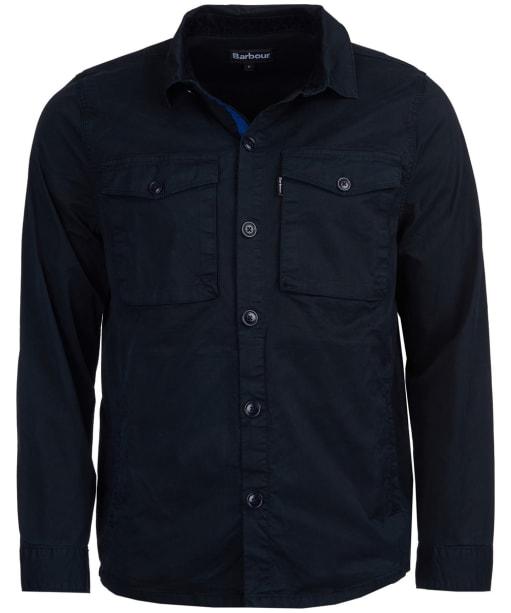 Men's Barbour Hali Overshirt - Navy