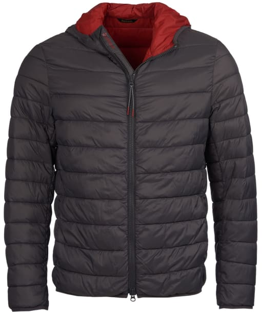 Men's Barbour Trawl Quilted Jacket - Charcoal