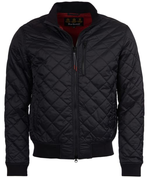 Men's Barbour Astern Quilted Jacket - Black