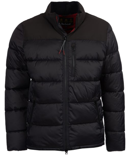 Men's Barbour Bail Quilted Jacket - Black
