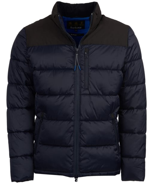 Men's Barbour Bail Quilted Jacket - Navy
