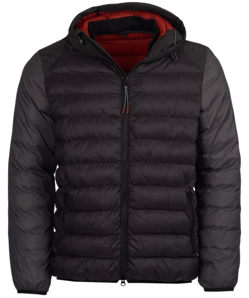 Men's Barbour Jib Quilted Jacket - Black