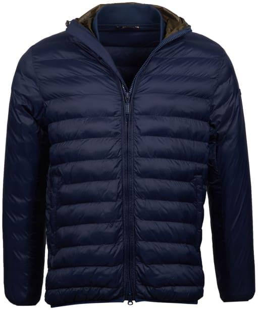 Men's Barbour International Asphalt Quilted Jacket - Navy