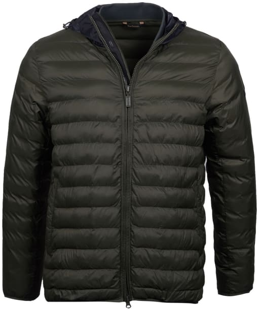 Men's Barbour International Asphalt Quilted Jacket - Sage
