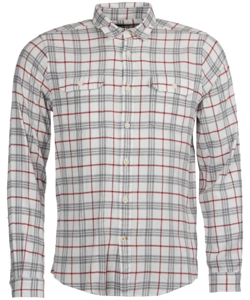 Men's Barbour Albion Shirt - Grey Marl