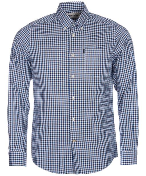 Men's Barbour Stapleton Oxford Gingham Shirt - Navy