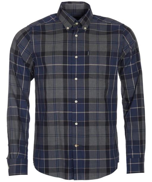 Men's Barbour Stapleton Oxford Tartan Shirt - Navy