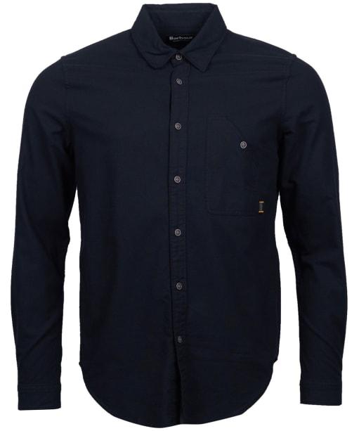 Men's Barbour International Cotter Shirt - Black