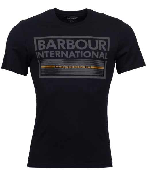 Men's Barbour International Grill Tee - Black