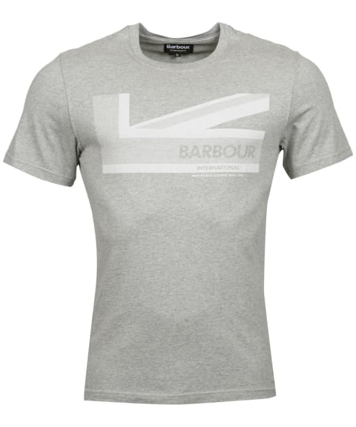Men's Barbour International Brit Tee - Grey Marl