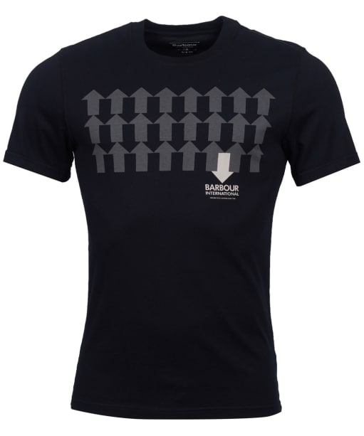 Men's Barbour International Direction Tee - Black