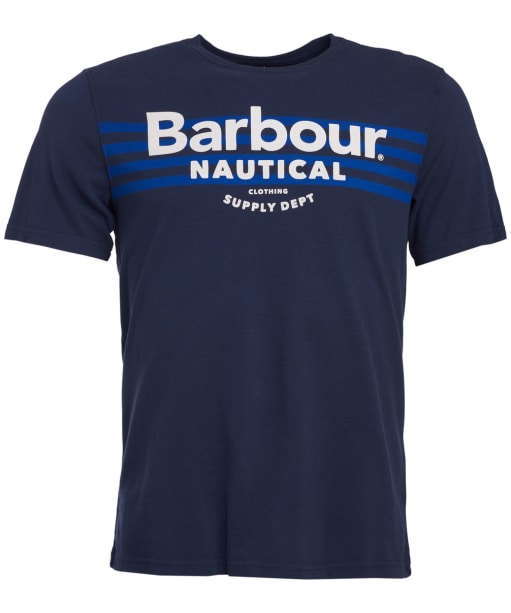 Men's Barbour Bluefin Tee - Navy