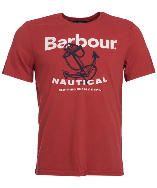 Men's Barbour Anchor Tee - Iron Ore