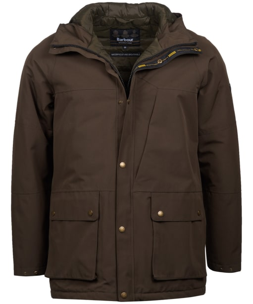 Men's Barbour International Ridge Jacket - Dark Olive
