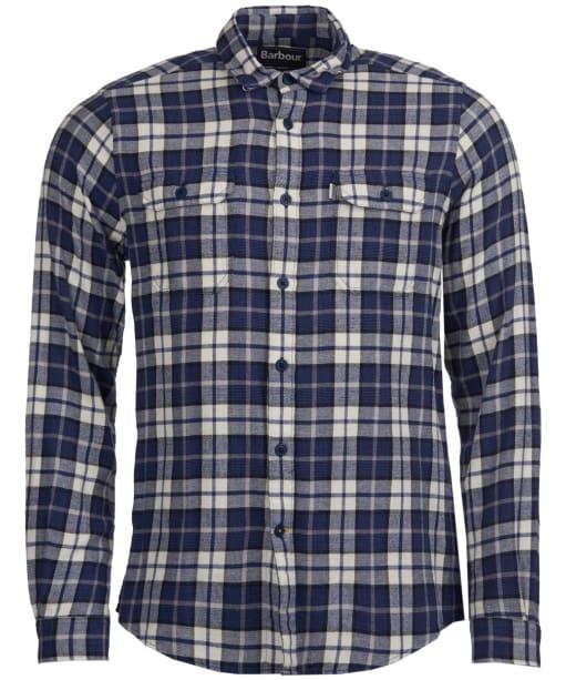 Men's Barbour Delmar Shirt - Electric Blue