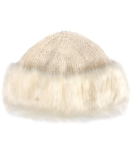 Women's Barbour Knitted Ambush Hat - Cloud