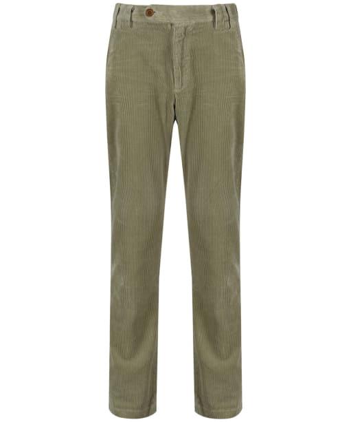 Men's Barbour Claremount Cord Trousers - Pea Green