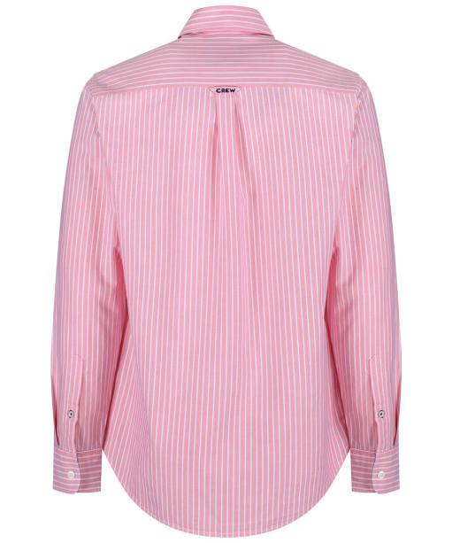 Men's Crew Clothing Whitmore Classic Stripe Shirt - Ocean Coral
