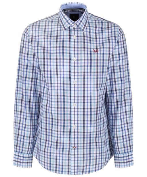 Men's Crew Clothing Belstone Classic Check Shirt - Periwinkle