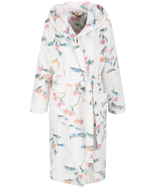 Women's Joules Rita Dressing Gown - Cream