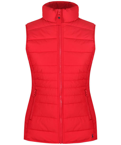 Women's Joules Fallow Quilted Gilet - Red