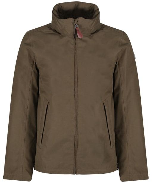 Men's Aigle Brawster Waterproof Jacket - Bark