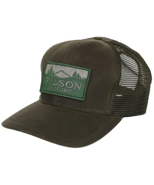 Men's Filson Logger Mesh Cap - Otter Green